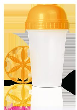 Шейкер Energy Diet оранжевый