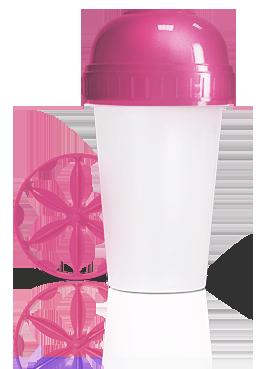 Шейкер Energy Diet розовый