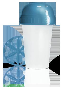 Шейкер Energy Diet синий